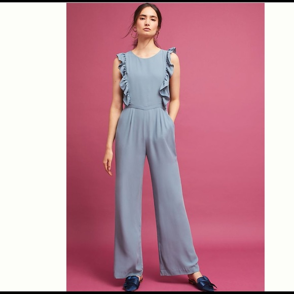 e7cf4299d28 Anthropologie Jumpsuit NWT in Evening Primrose NEW